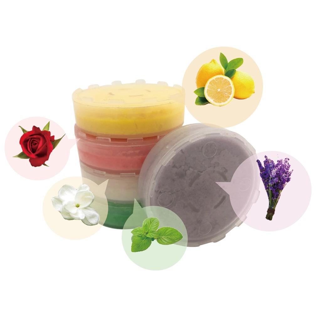 水摩爾蓮蓬頭專用VC沐浴香氛盒-1個(香味請自行備註) 淋浴時享受香氛維他命C美容SPA(檸檬,玫瑰,薰衣草,薄荷,茉莉花香可選)清香怡人
