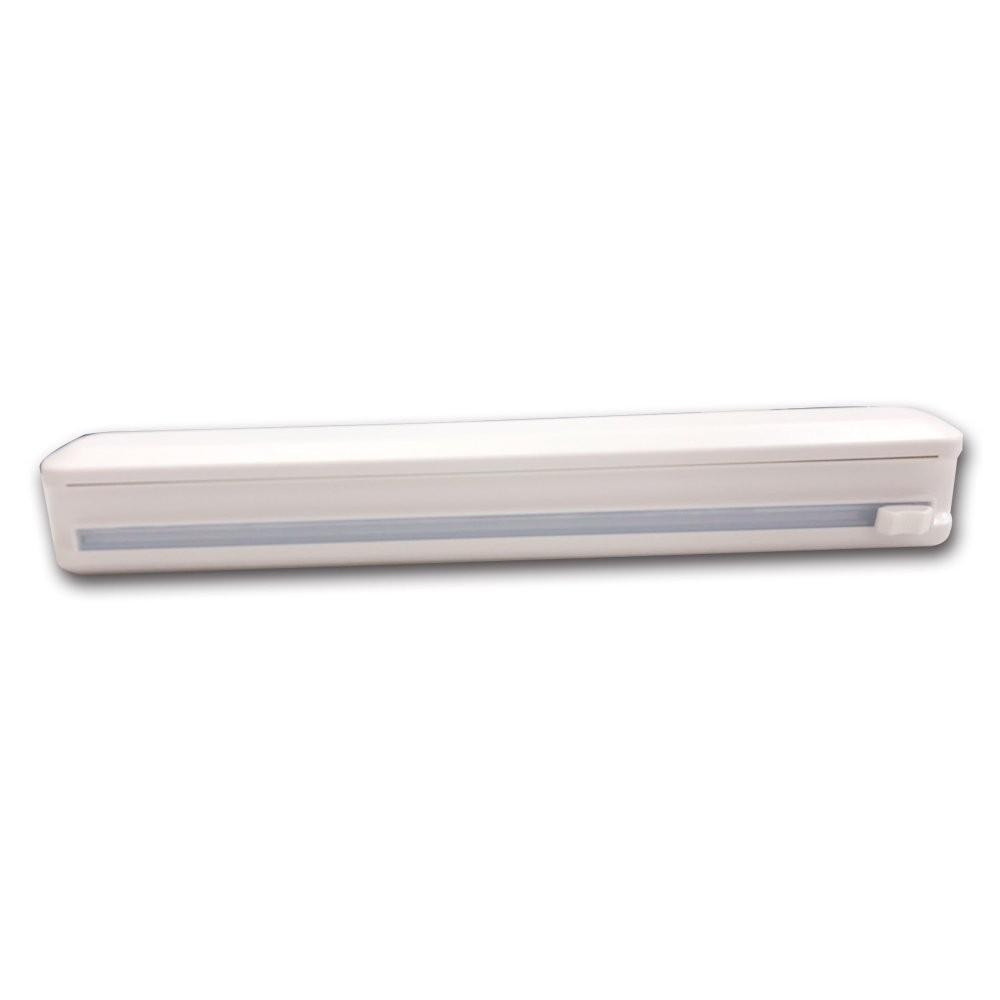 派樂吸盤式 保鮮膜切割盒 1組-適多款 保鮮膜 切割器 軌道滑刀安全 吸盤固定方便使用