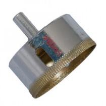 《鑽孔大師》水電師父推薦-超硬鑽石粉製DIY鑽石粉鑽頭〈60mmX1〉圓孔玻璃磁磚石英磚大理石