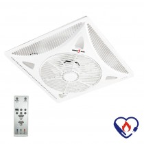 派樂嚴選 DC直流輕鋼架循環扇SH-14SD (附遙控器)天花板循環扇 冷氣空調扇 節能電風扇 定時遙控