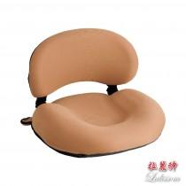 拉麗神 台灣精品標章 樂腰墊/美臀墊/端正紓壓墊 和室椅 KN-013 (棕色1入)靠背和室椅 美尻墊 工學椅 台灣製造