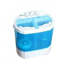 《CHUNBAIYI》超豪 家用媽咪寶貝迷你洗衣機- 日式小型洗衣機/雙槽/柔洗機/嬰幼兒貼身衣物洗滌機-大河中萊
